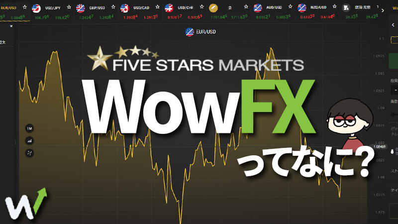 fivestarsmarkets(ファイブスターズマーケッツ)ってFXまで出来るんですけど