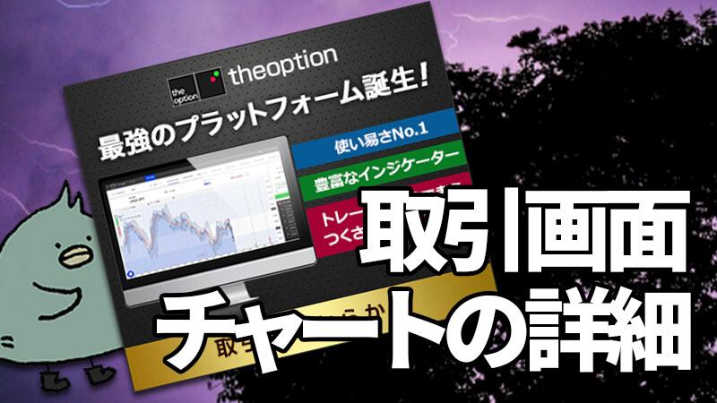 theoption(ザオプション)最新の取引画面とチャートを紹介!